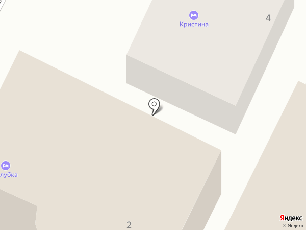 Кристина на карте Геленджика