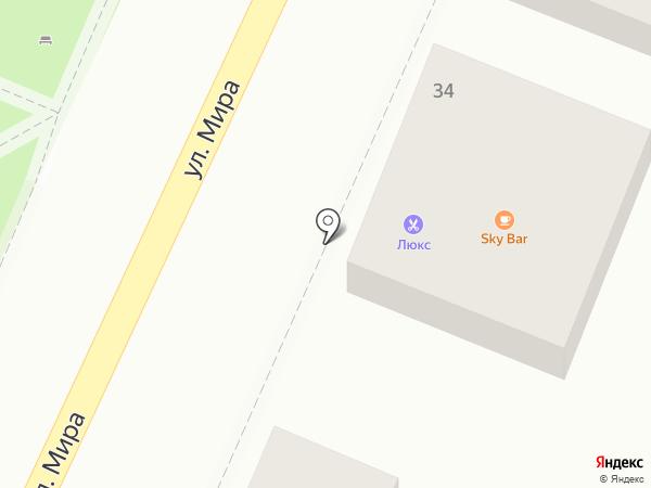 Люкс на карте Геленджика