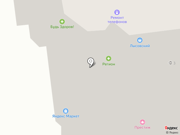 Vintage на карте Ивантеевки
