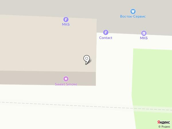 Сутеки на карте Балашихи