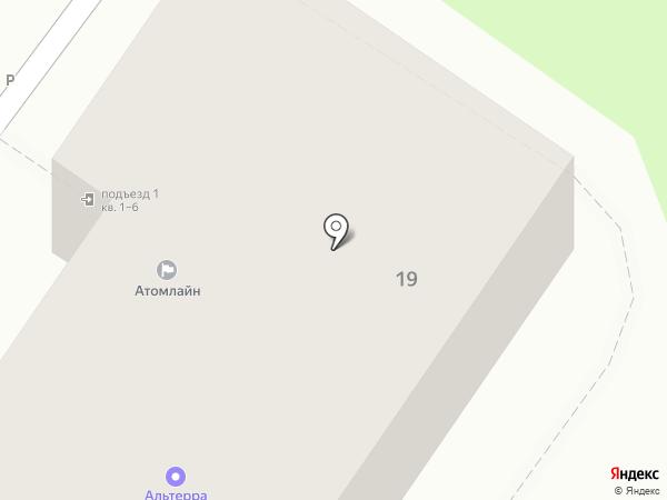 Альтерра на карте Балашихи