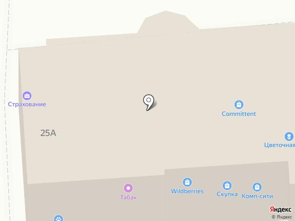 Дикси на карте Ивантеевки