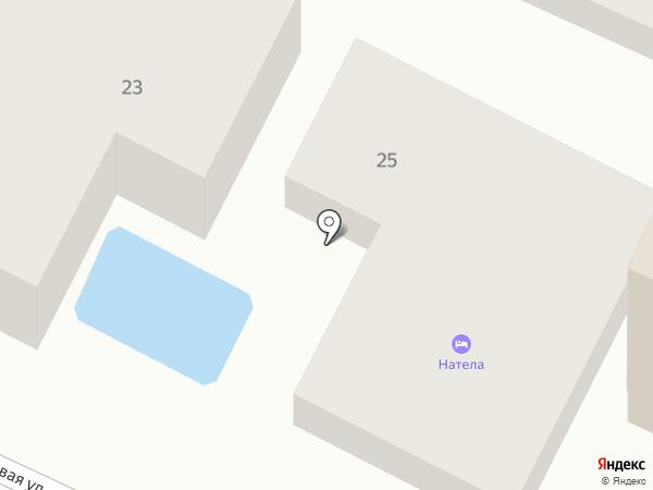 Натела на карте Геленджика