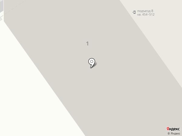 Децем на карте Балашихи