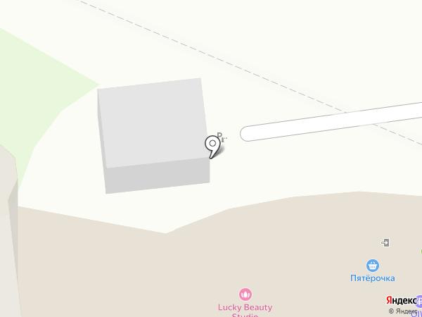 Парковка на карте Балашихи