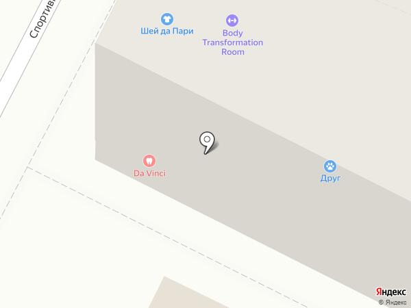 Друг на карте Геленджика