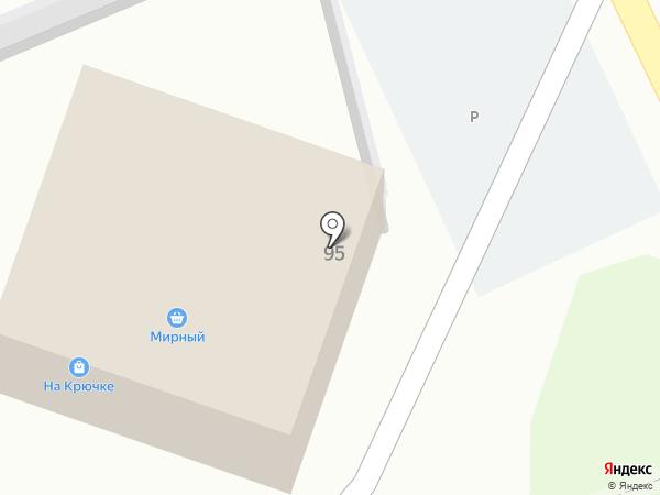 На Крючке на карте Старого Оскола