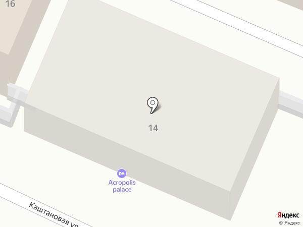 Acropolis palace на карте Геленджика