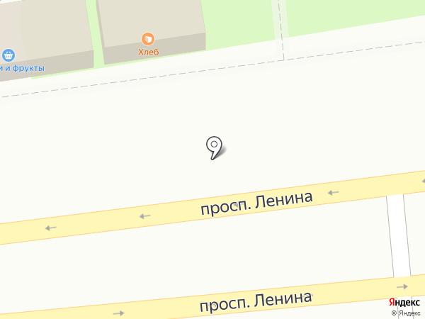 Киоск по продаже овощей и фруктов на карте Балашихи