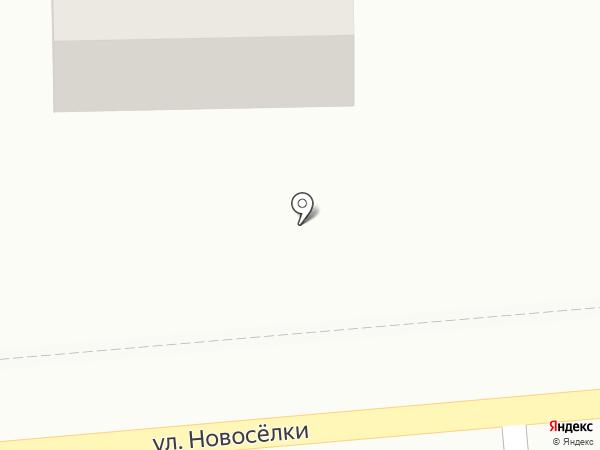 Магазин автозапчастей на карте Ивантеевки