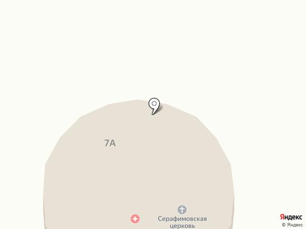 Свято-Серафимовский храм на карте Макеевки
