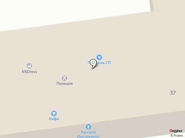 Пласт-Боттл на карте Томилино