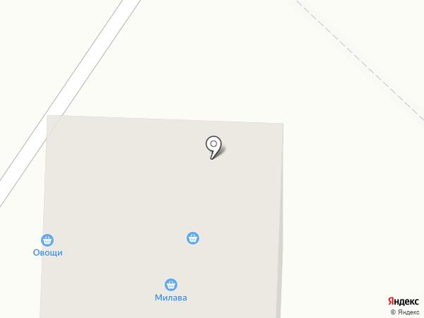 Яблонька на карте Томилино