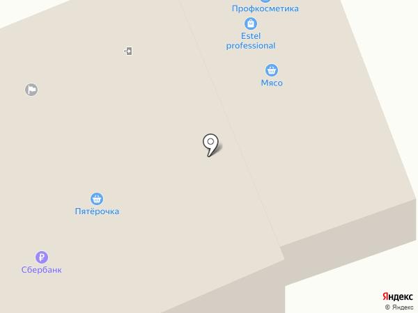 Кoмета НГ на карте Володарского