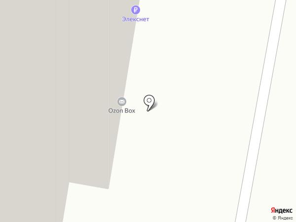 Тритон на карте Балашихи