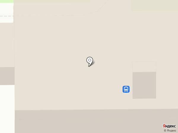Макеевка-Пассажирская на карте Макеевки