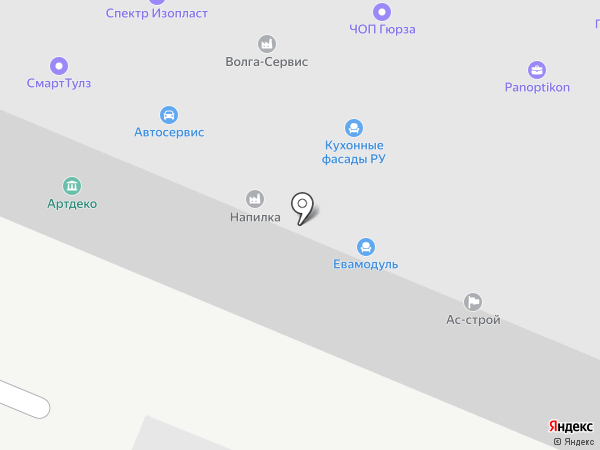 Zeroplast на карте Балашихи