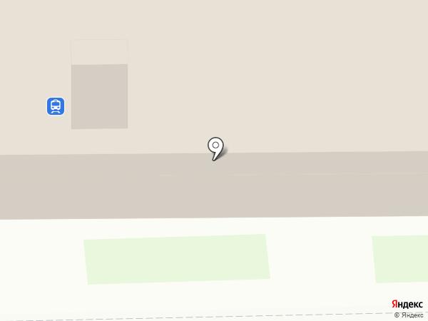 Макеевка-Пассажирская, железнодорожный вокзал на карте Макеевки