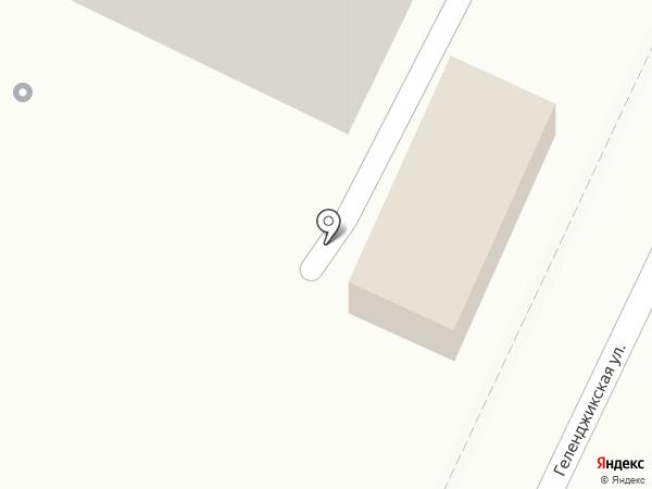 Элен Маркет на карте Геленджика