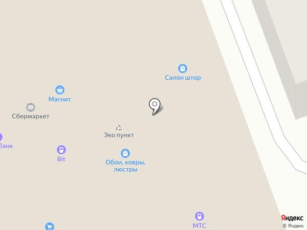 Банк Воронеж на карте Михнево