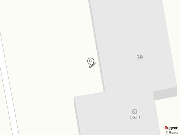 Участковый пункт милиции №5 на карте Макеевки