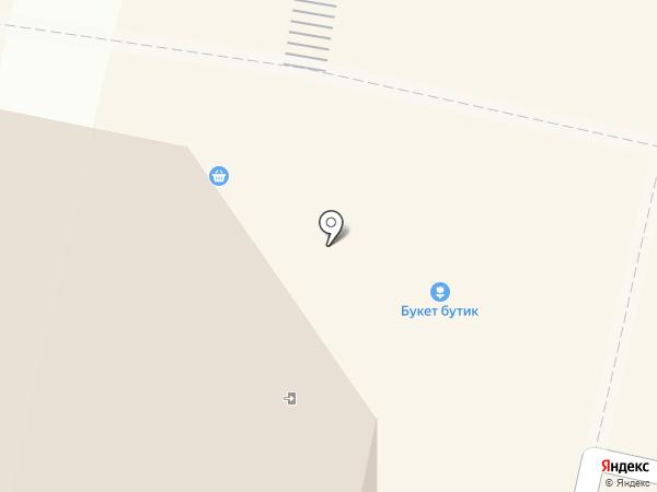 Букетик на карте Балашихи