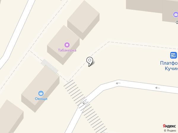 Славянское на карте Балашихи