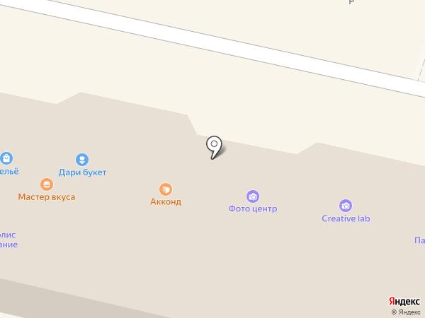 Аист на карте Балашихи