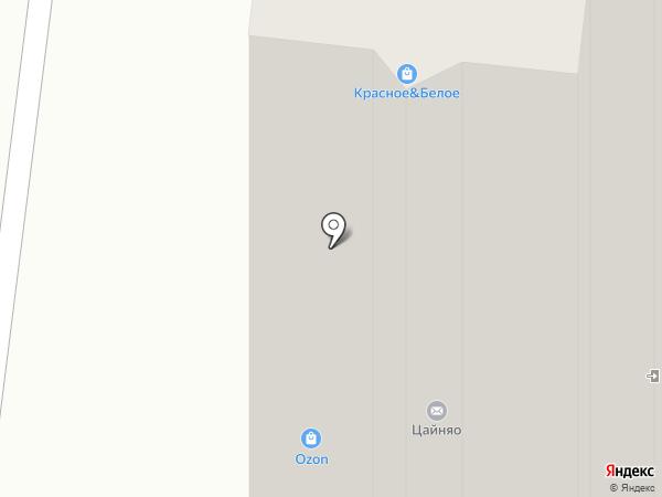 Роникон на карте Балашихи
