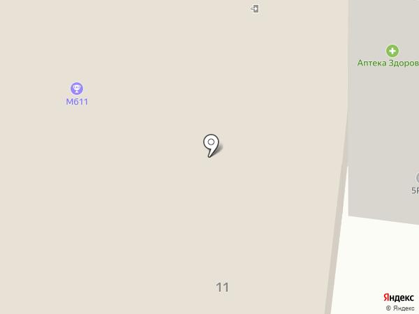 Бахрушинъ на карте Балашихи