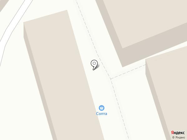 Вегус на карте Балашихи
