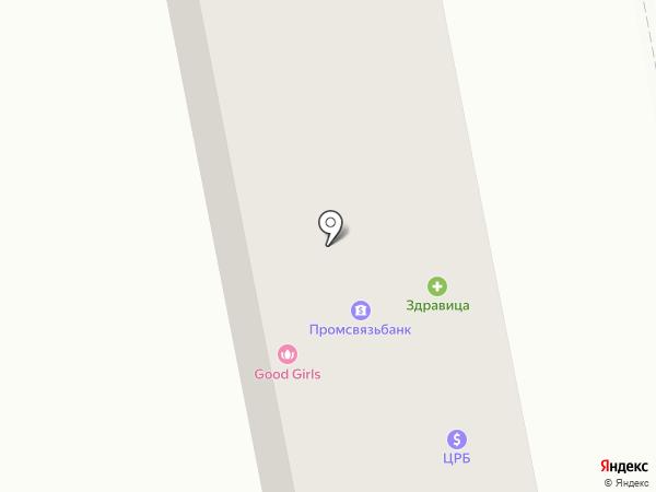 Отделение связи №33 на карте Макеевки