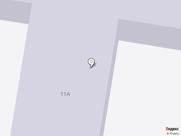 Детский сад №11 на карте Железнодорожного