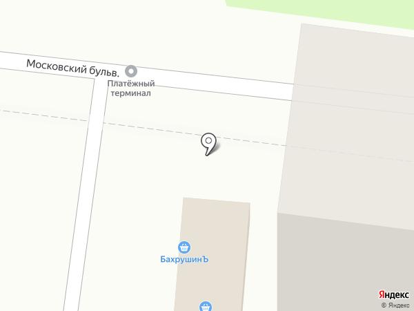 Первая полоса на карте Балашихи