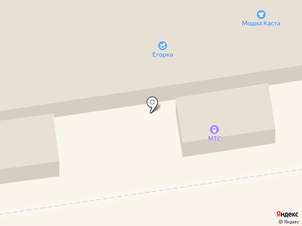 МТС на карте Макеевки