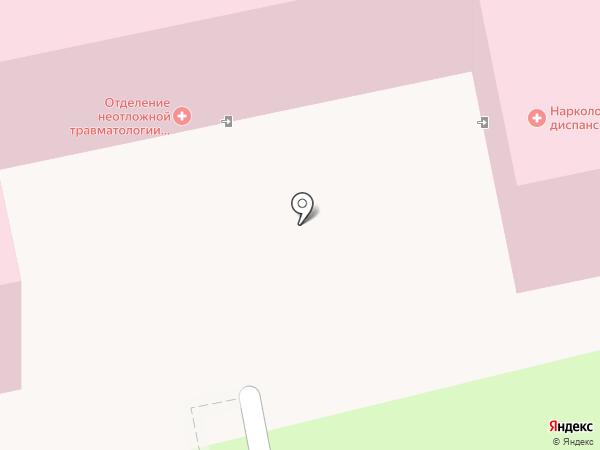 Центр здоровья на карте Балашихи