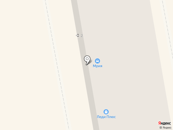 Мрия на карте Макеевки