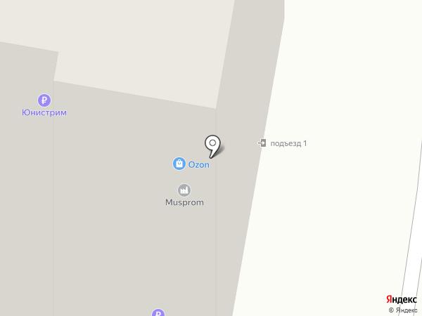 Участковый пункт полиции на карте Железнодорожного