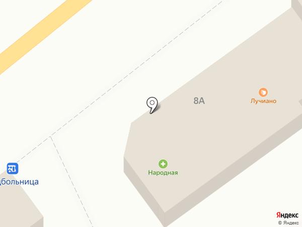 Оптика на карте Макеевки