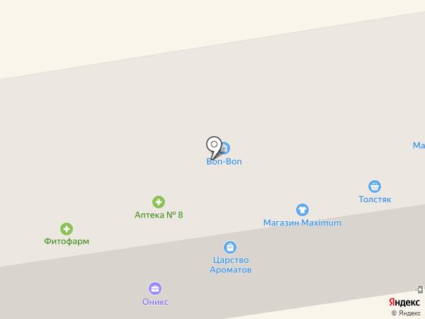 Эконом-мебель на карте Макеевки