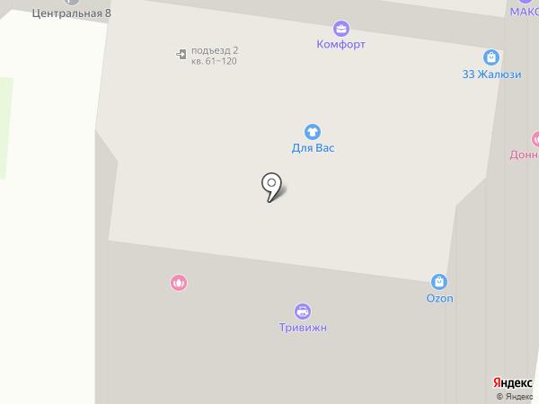 Фасон на карте Железнодорожного