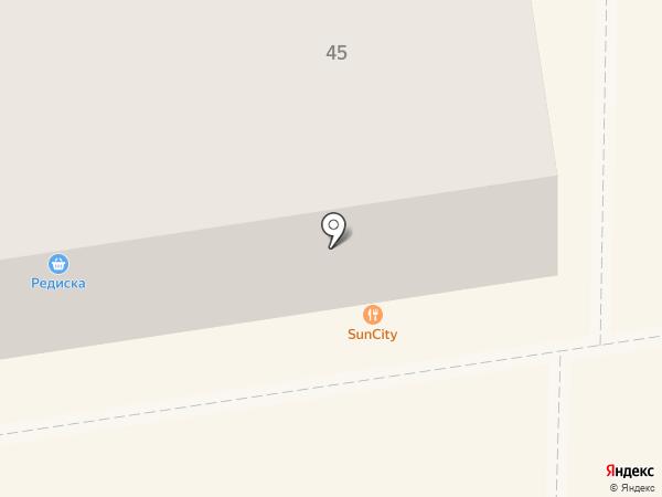 Sun City на карте Макеевки