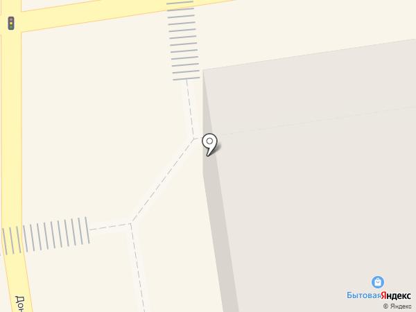 Шмотка на карте Макеевки
