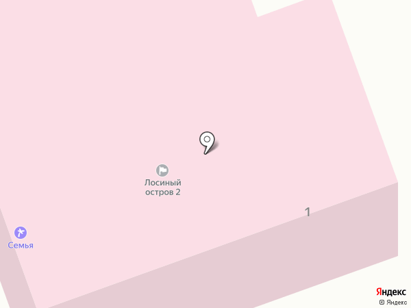 Семья на карте Балашихи