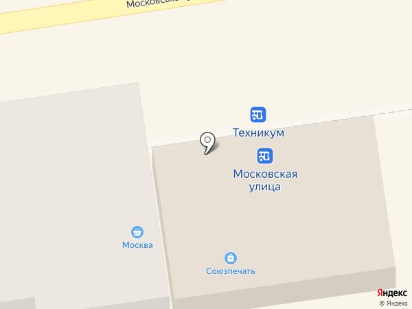 Москва на карте Макеевки
