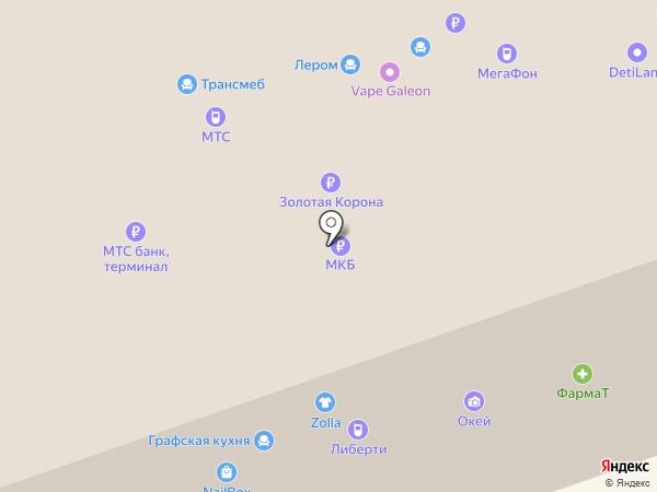 Венеция на карте Балашихи