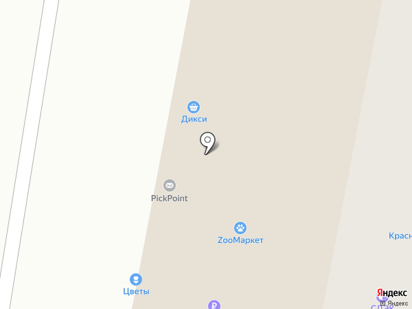 Магазин товаров для рукоделия на карте Ивантеевки