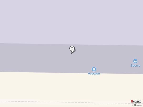 Скороход на карте Макеевки
