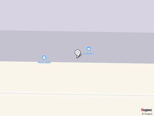 Магазин тканей на карте Макеевки