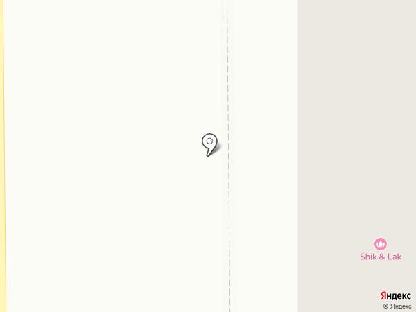 Киви на карте Макеевки